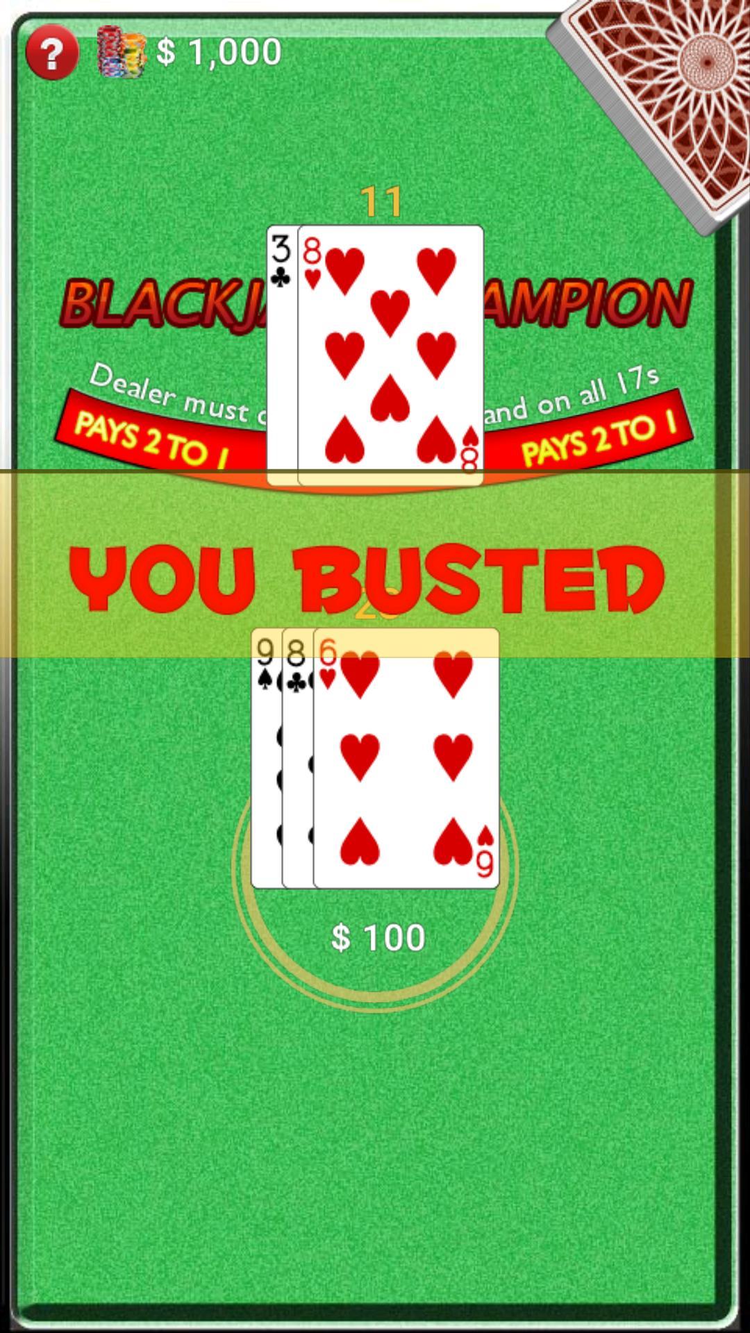 BlackJack Champion screenshot 5