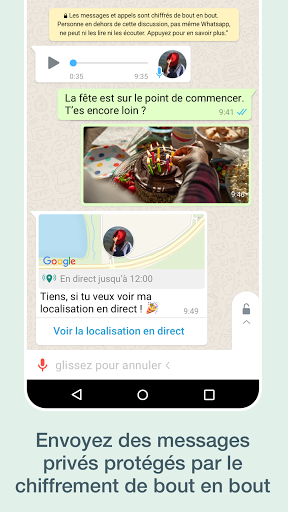 WhatsApp Messenger screenshot 2