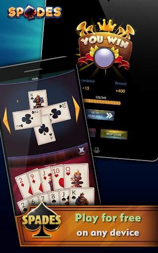 Spades - Offline Free Card Games screenshot 10