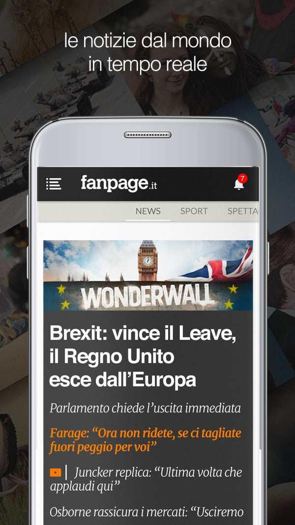 Fanpage.it - Breaking News screenshot 1