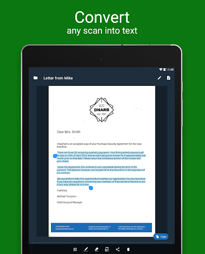 Scanner App for Me: Scan Documents to PDF screenshot 10