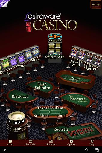 Astraware Casino 17 تصوير الشاشة