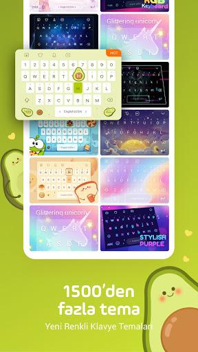 Facemoji Klavye: Gif,Emoji Klavyesi,Temalar,etiket screenshot 3