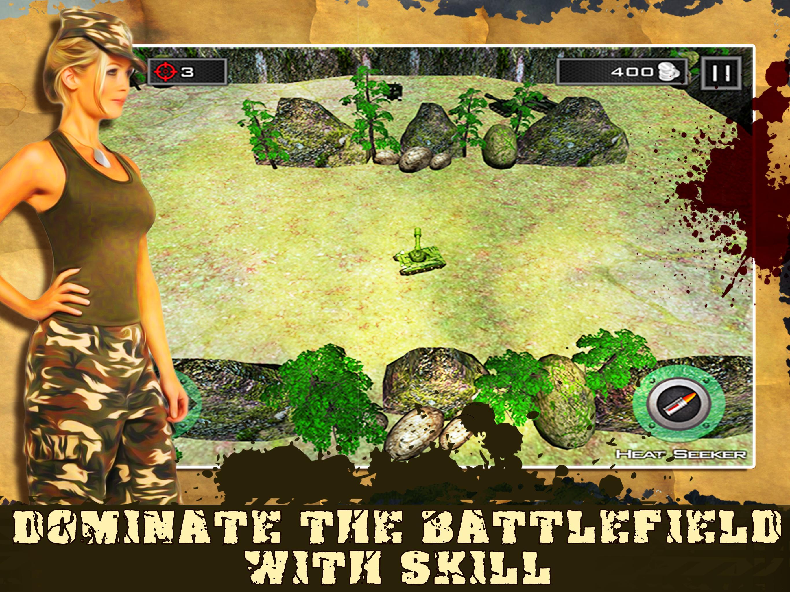Mini Tank Battle 8 تصوير الشاشة