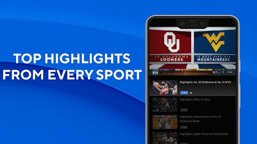 CBS Sports App - Scores, News, Stats & Watch Live 4 تصوير الشاشة