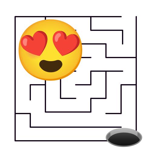 Emoji Maze Games - Challenging Maze Puzzle أيقونة