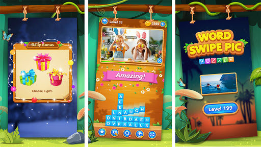 Word Swipe Pic स्क्रीनशॉट 2