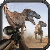 صيد الديناصورات الغابة أيقونة