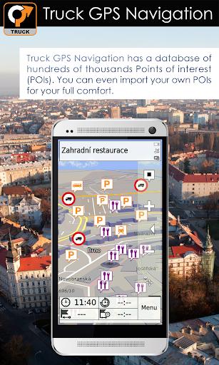 Truck GPS Navigation 6 تصوير الشاشة