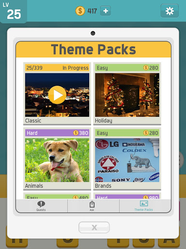 بكتوورد: ألعاب كلمات ممتعة، لعبة كلمات للدماغ 15 تصوير الشاشة