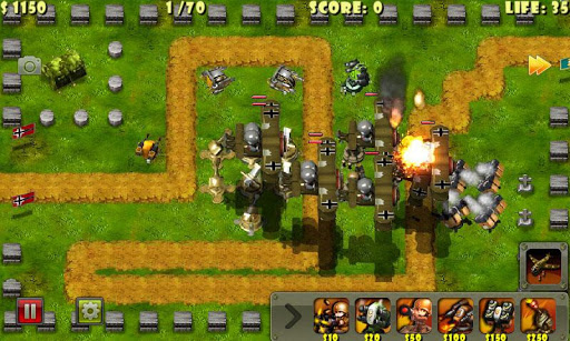Little Commander - WWII TD screenshot 3