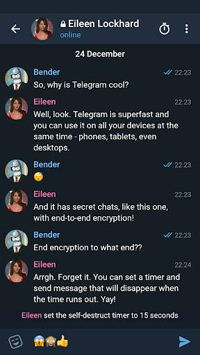 Telegram X screenshot 4
