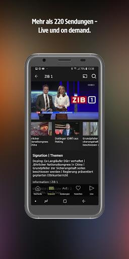 ORF TVthek: Video on demand screenshot 2