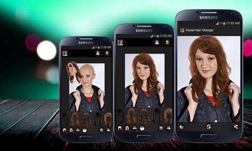Face Hair Changer Men-Women screenshot 10