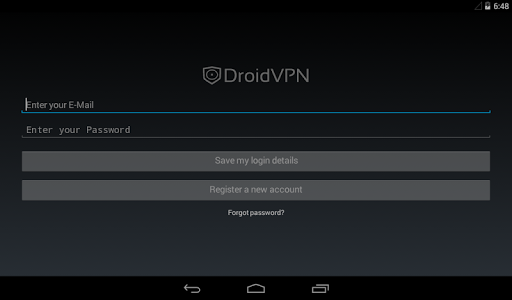 DroidVPN - Easy Android VPN screenshot 3