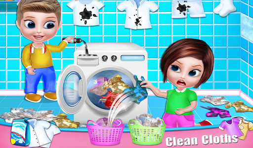 House Cleaning - Home Cleanup Girls Game screenshot 11