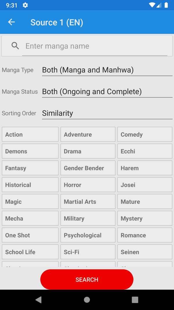 Shin Manga - Best Manga reader screenshot 2