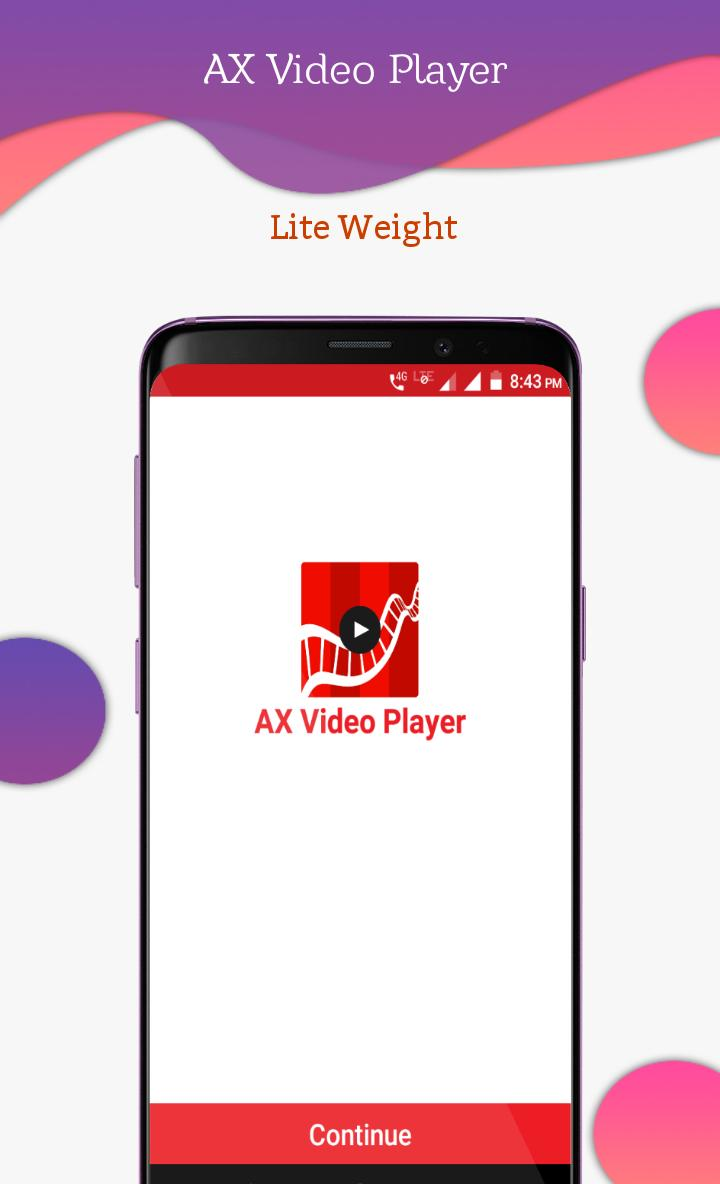 AX Video Player screenshot 3