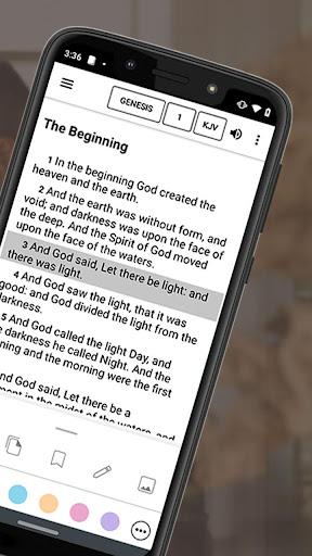 Bible Offline App Free   Audio, KJV, Daily Verse скриншот 2