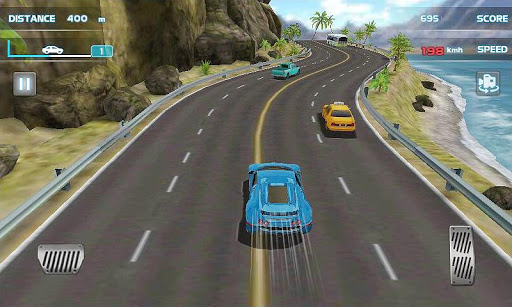 Turbo Driving Racing 3D screenshot 1