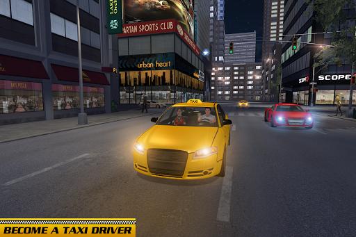 Taxi Driver Car Games: Taxi Games 2021 screenshot 2