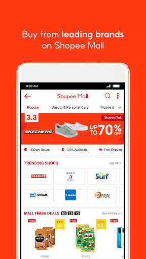 Shopee 3.3 Mega Shopping Sale 6 تصوير الشاشة