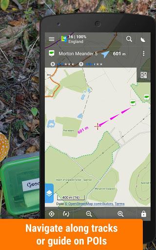 Locus Map Free - Hiking GPS navigation and maps screenshot 3