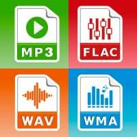 محول MP3(الموسيقى، ogg، flac، wav، wma، aac) on 9Apps
