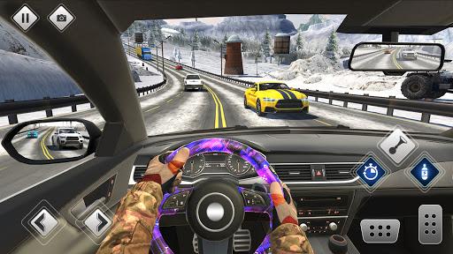 الطريق السريع القيادة سيارة سباق لعبه سيارة ألعاب 1 تصوير الشاشة
