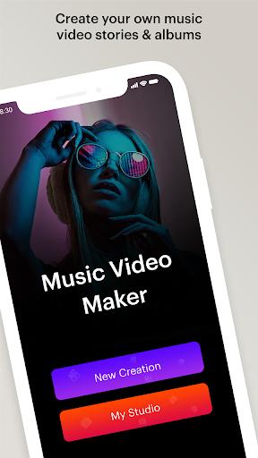 Music Video Editor 1 تصوير الشاشة
