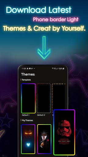 Phone Screen Edge Border Light Live Wallpaper screenshot 5