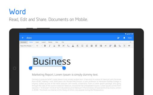 Polaris Office - Free Docs, Sheets, Slides   PDF screenshot 18