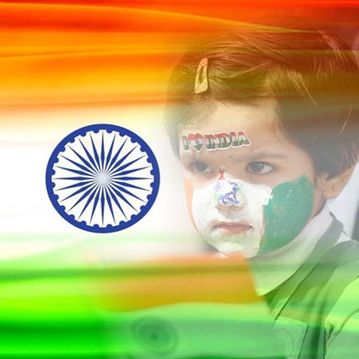 India Flag DP Photo Frame | 15 August photo frame icon