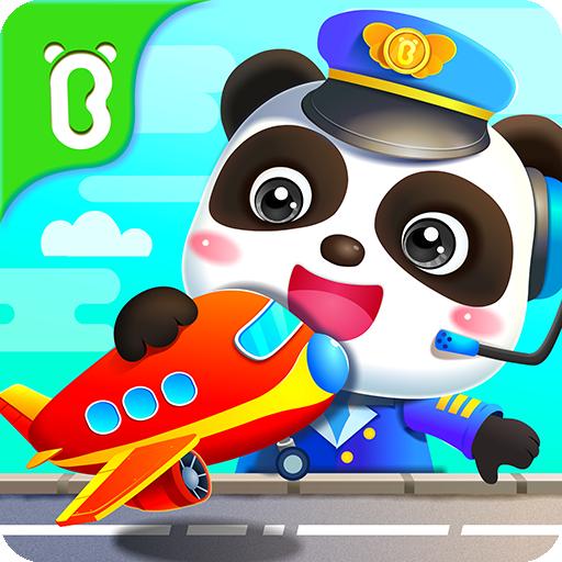 बेबी पांडा का एयरपोर्ट आइकन