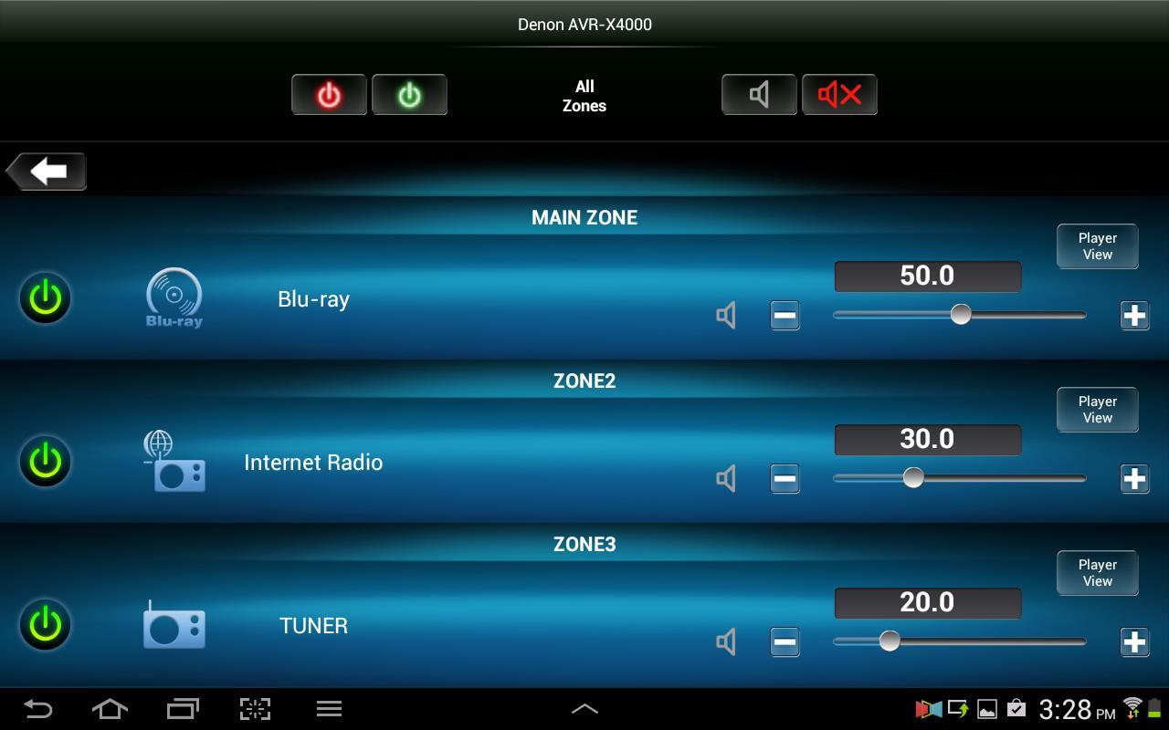 Denon Remote App screenshot 8