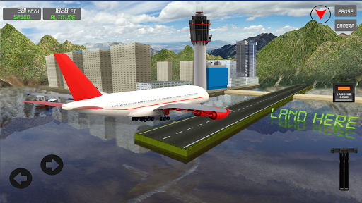 Pilot Flight Simulator 2020: Airplane Flying Games screenshot 8