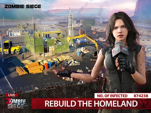 Zombie Siege: Last Civilization 8 تصوير الشاشة