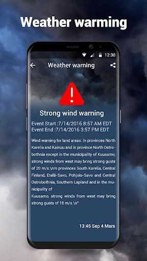 Local Weather Forecast & Real-time Radar checker screenshot 3