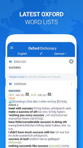 Оxford Dictionary with Translator 4 تصوير الشاشة