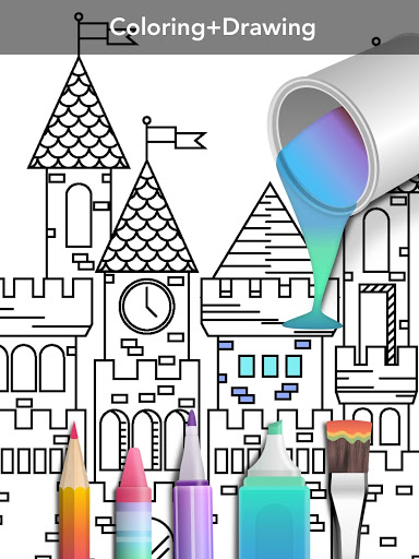 Princess coloring book screenshot 16