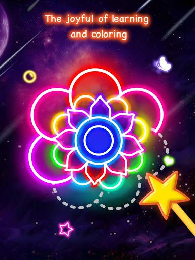 Learn To Draw Glow Flower скриншот 9