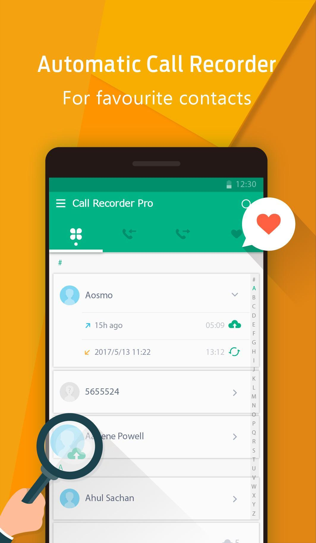Call Recorder - Automatic screenshot 1