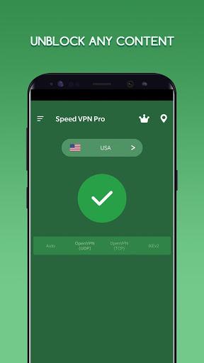 Speed VPN Pro-Fast, Secure, Free Unlimited Proxy screenshot 2