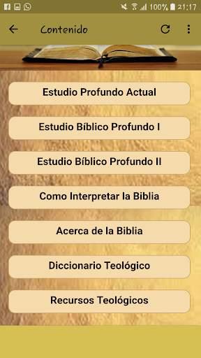Estudios Bíblicos Profundos screenshot 4