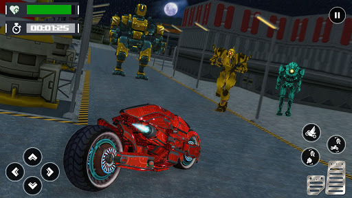 Ball Robot Transform Bike War : Robot Games screenshot 4