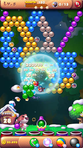 Bubble Bird Rescue 2 - Shoot! 5 تصوير الشاشة