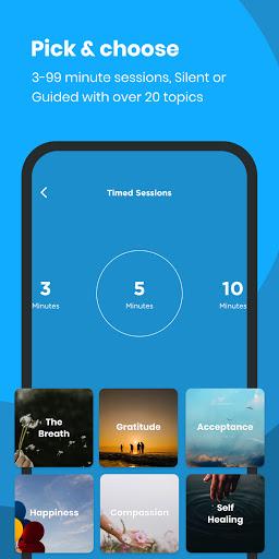 The Mindfulness App: relax, calm, focus and sleep 8 تصوير الشاشة