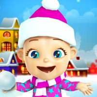 Talking Babsy Baby Xmas Games on 9Apps