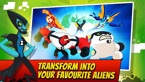 Ben 10 Alien Run 3 تصوير الشاشة
