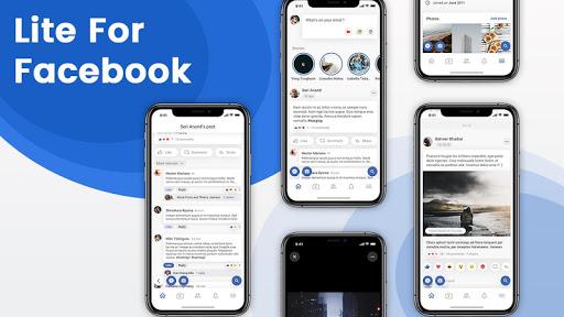 Lite for Facebook - Quick Chat for Messenger 1 تصوير الشاشة